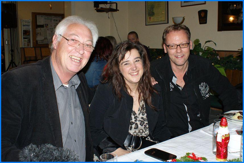 Mit Gregor Rotarius und Thomas Wirtz. Bild: Heike Matschkowski